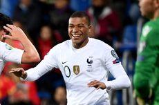 Babak Pertama Swedia Vs Perancis, Kylian Mbappe Bawa Les Bleus Unggul