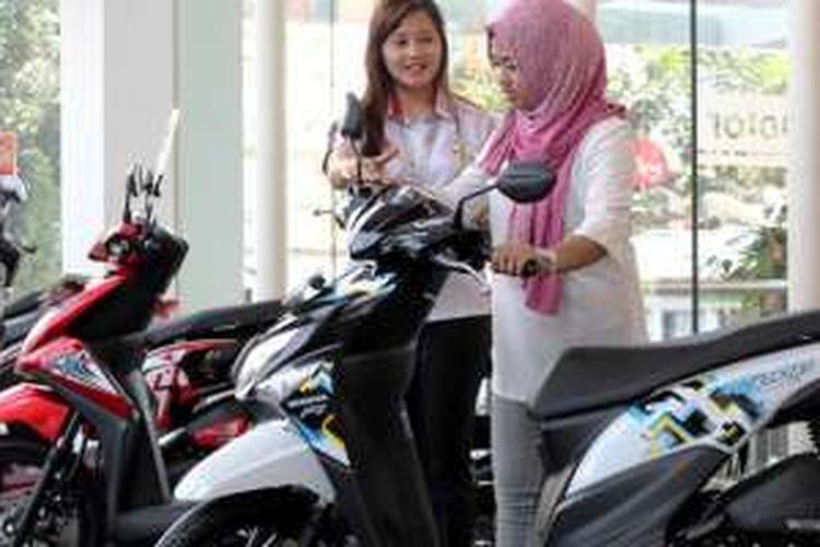 Ilustrasi: Diler sepeda motor Honda