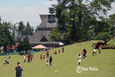 Wisata Bukit Kubu Berastagi, Piknik Keluarga di Taman Hotel Tua
