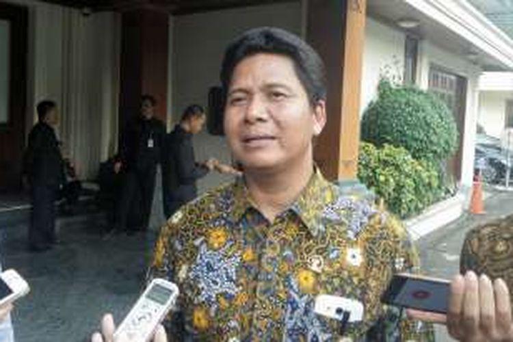 Ketua Komnas HAM Imdadun Rahmat saat ditemui di kantor Kemenko Polhukam, Kamis (22/9/2016).