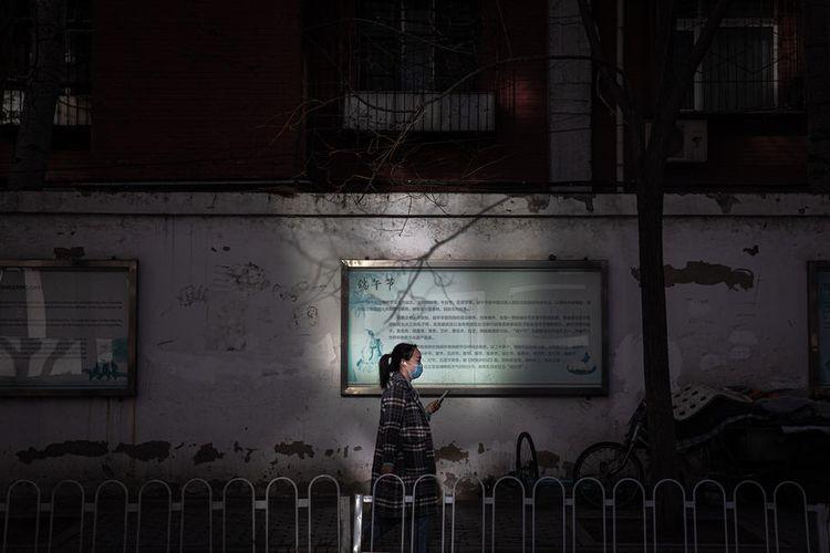 Kondisi di Wuhan, China setelah wabah virus corona. EPA-EFE/ROMAN PILIPEY