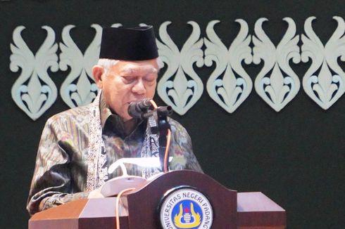Ma'ruf Heran Indonesia jadi Importir Produk Halal Terbesar di Dunia