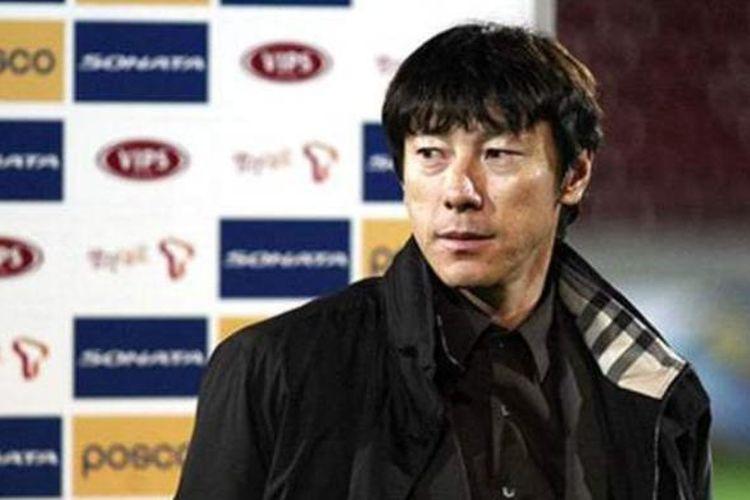 Pelatih tim nasional Korea Selatan U-23, Shin Tae-yong.