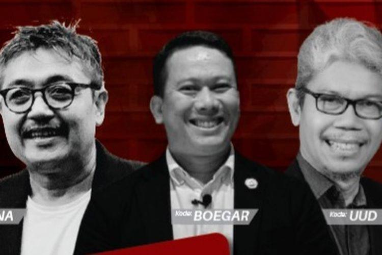 Tiga kandidat Ketum IAI 2021-2024