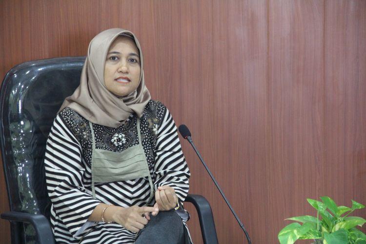 Koordinator Divisi Pengawasan dan Hubungan Antar Lembaga Bawaslu Provinsi Jawa Tengah Anik Sholihatun