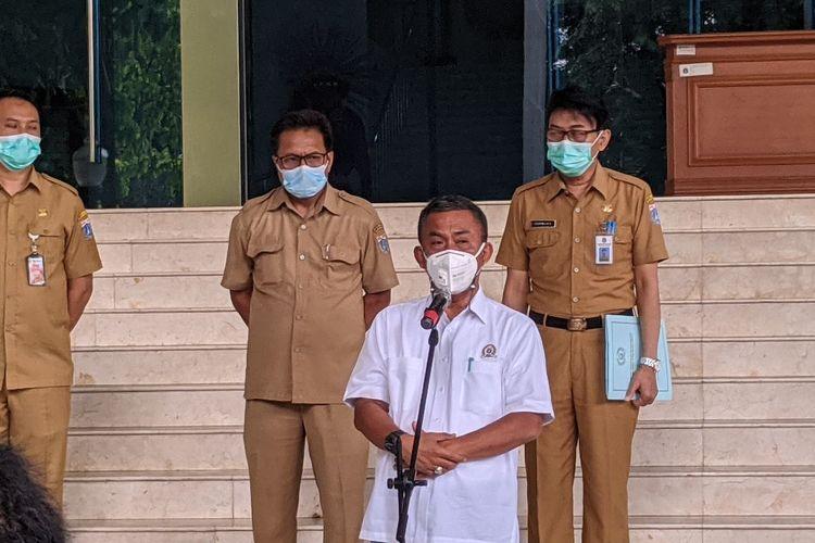 Ketua DPRD DKI Jakarta Prasetyo Edi Marsudi di Gedung DPRD DKI Jakarta Kebon Sirih, Jakarta Pusat, Senin (4/1/2020)