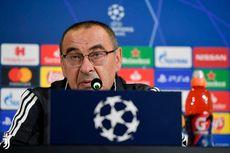 Lazio Vs Juventus, Maurizio Sarri Sebut Kartu Merah Melemahkan Timnya