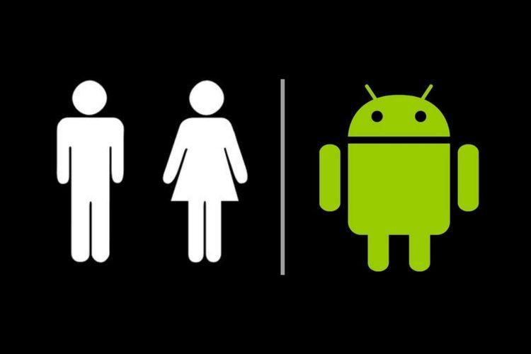 Logo Android Andy terinspirasi dari logo toilet.