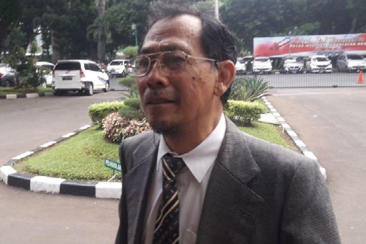Sri Bintang Pamungkas di Jakartaa, Kamis (19/4/2018).