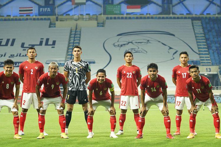 Timnas Indonesia berhadapan dengan Thailand pada laga lanjutan Grup G Kualifikasi Piala Dunia 2022 Zona Asia.