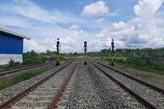 Pertama di Indonesia, KA Makassar-Parepare Gunakan Lebar Rel 1.435 Milimeter