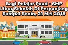 Pascateror Bom, Libur Sekolah PAUD hingga SMP di Surabaya Diperpanjang
