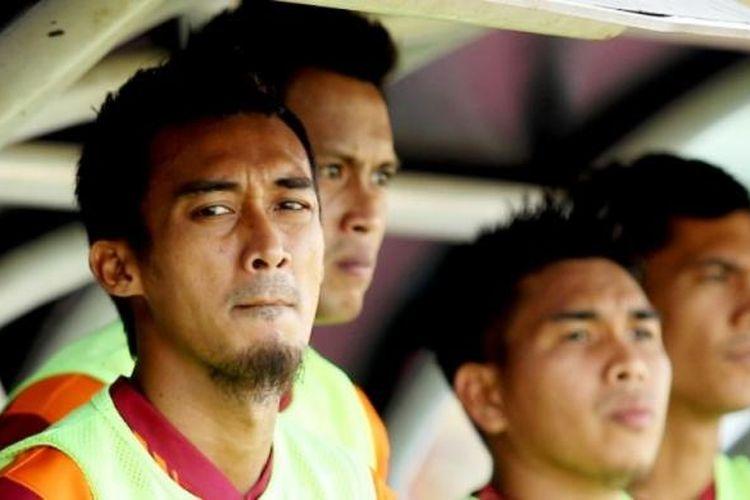 Gelandang PBFC, Sutan Samma, tampil di Piala Jenderal Sudirman.