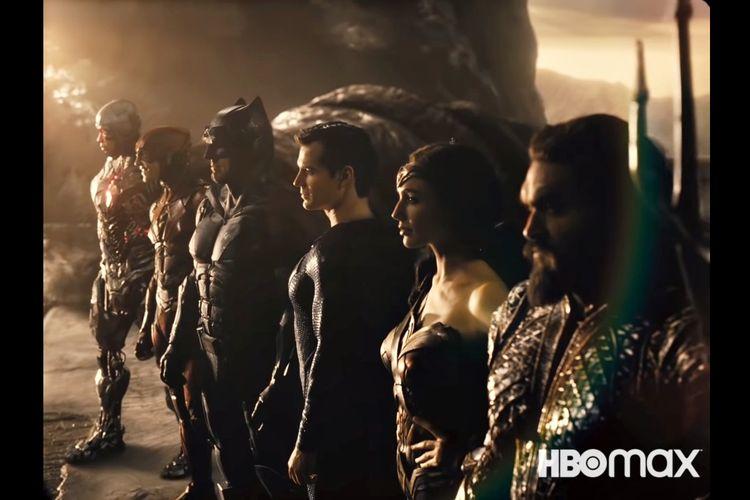 Justice League Snyder Cut dijadwalkan rilis di HBO Max pada pertengahan 2021 mendatang.