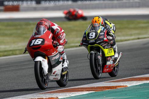 Finis Ke-5 di Valencia, Mario SA Kini Posisi 4 Klasemen CEV Moto3