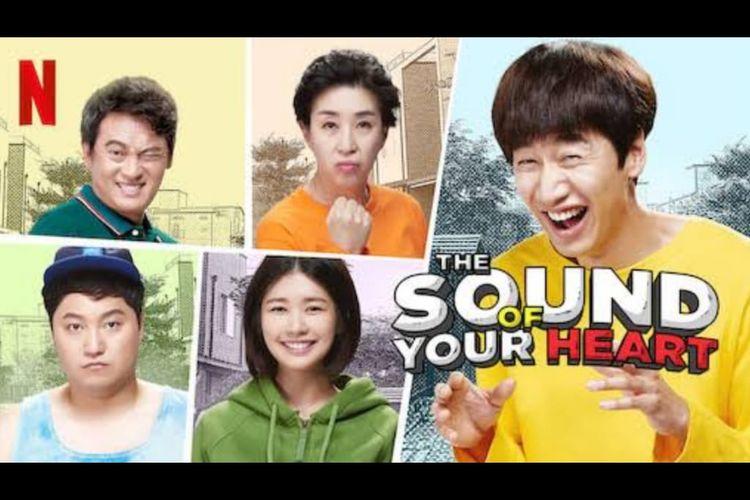 Poster drama komedi The Sound of Your Heart, dibintangi Lee Kwang Soo. Tayang di Netflix