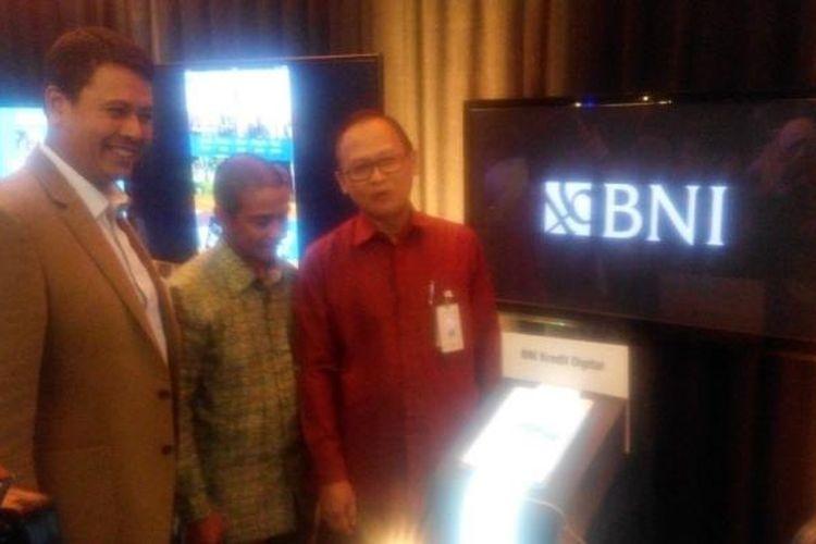 Peluncuran BNI Digination di Jakarta, Rabu (22/2/2017).