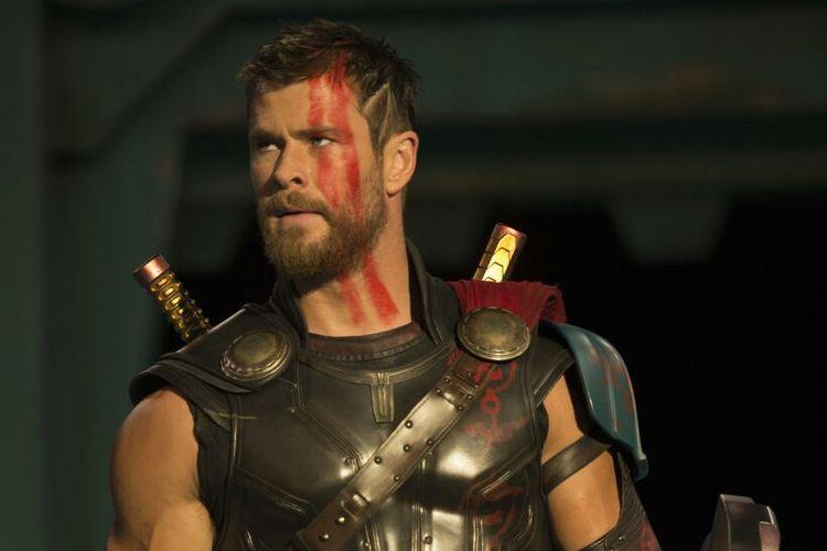 Aktor asal Australia Chris Hemsworth memerankan Thor dalam film produksi Marvel Studios.