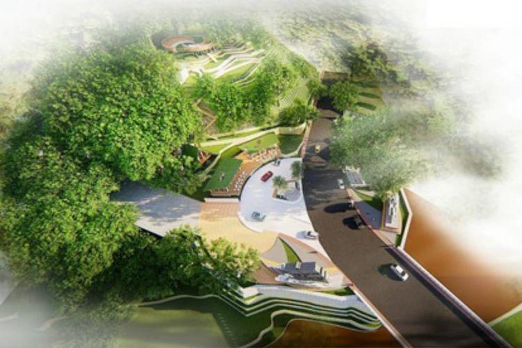 Masterplan Gerbang Klangon Tema Samudraraksa.