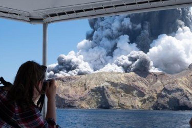 White Island di Selandia Baru.