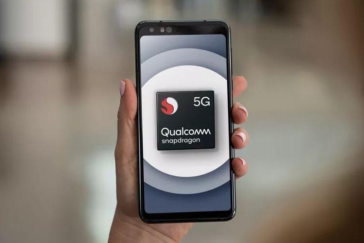 Ilustrasi Qualcomm Snapdragon 5G
