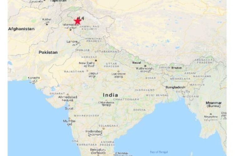 Gempa merusak berkekuatan M 5,3 di Kashmir, Pakistan terjadi pada Selasa (24/9/2019) sore. Gempa ini telah menewaskan 23 orang dan ratusan orang luka-luka.