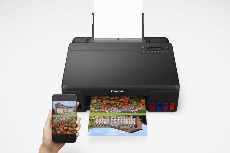 Ilustrasi printer Pixma G670.