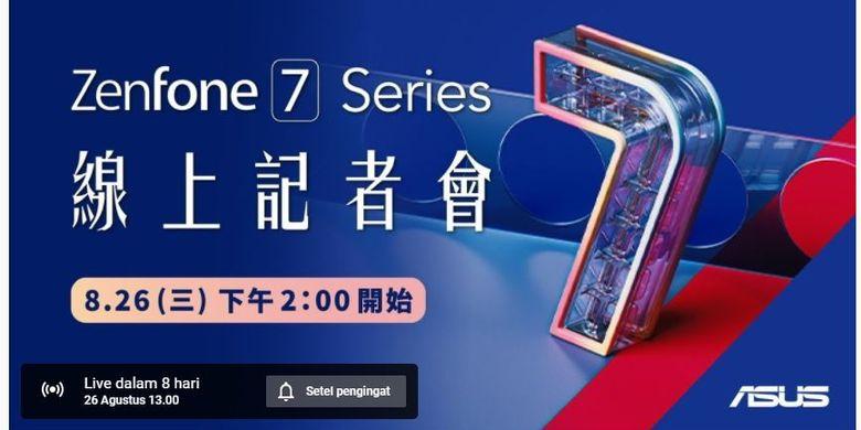 Meluncur 26 Agustus, Inikah Spesifikasi Asus Zenfone 7?