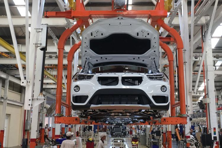 All-new BMW X3 yang dirakit lokal di BMW Production Network 2, PT Gaya Motor, Sunter.
