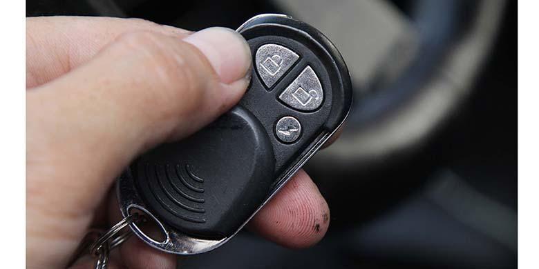 Ilustrasi alarm kendaraan