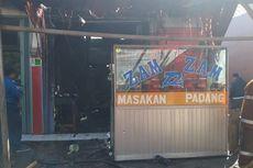 Tabung Gas Bocor, Rumah Makan Padang di Bogor Dilahap Si Jago Merah