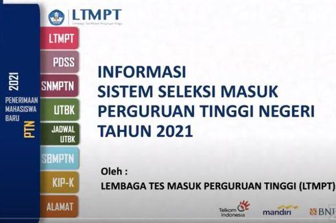 UTBK-SBMPTN 2021: Jadwal, Ketentuan, Materi Tes dan Biaya
