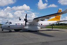 Pesawat CN235 Gagal Bantu Pencarian Heli TNI AD