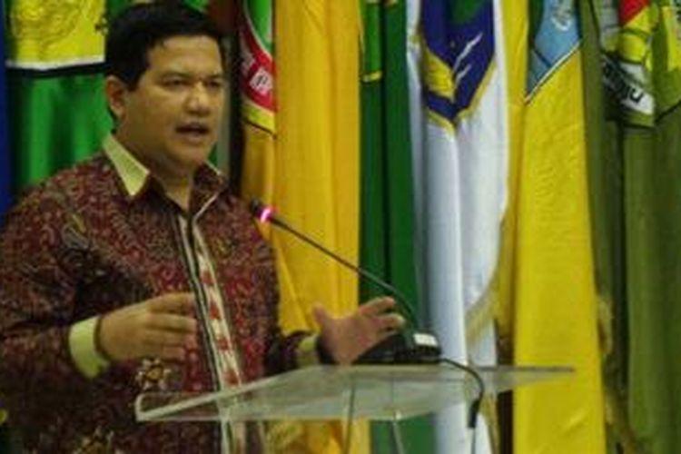 Ketua Komisi Pemilihan Umum Husni Kamil Malik