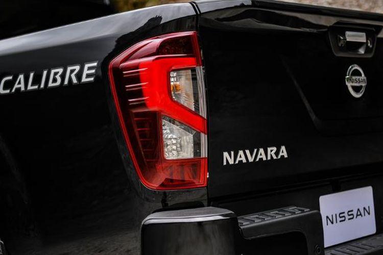 Ilustrasi Nissan Navara facelift.
