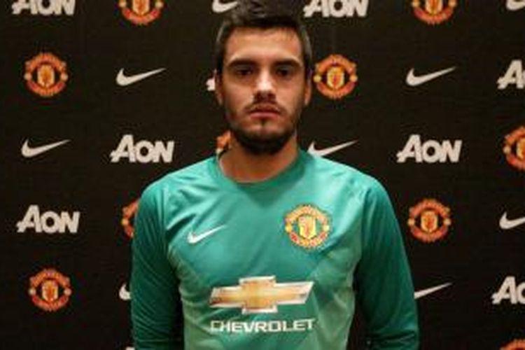 Kiper baru Manchester United, Sergio Romero.