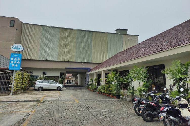 Kondisi penginapan salah satu mitra Airy yaitu Airy Kebayoran Lama Seha 6 Jakarta Selatan yang sepi.