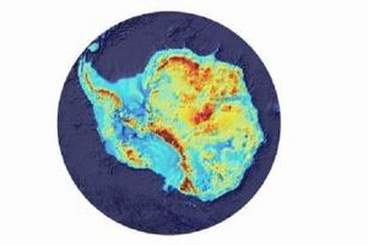 Topografi Antartika