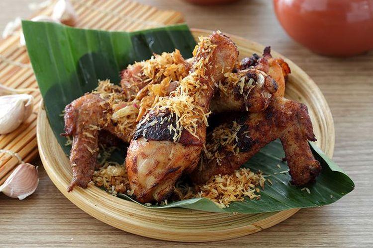 Resep Ayam Goreng Serundeng Ungkep Dulu Biar Makin Enak