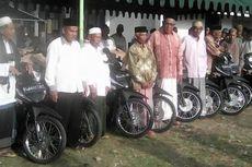 Ratusan Imam Desa di Bireun Dapat Sepeda Motor Operasional