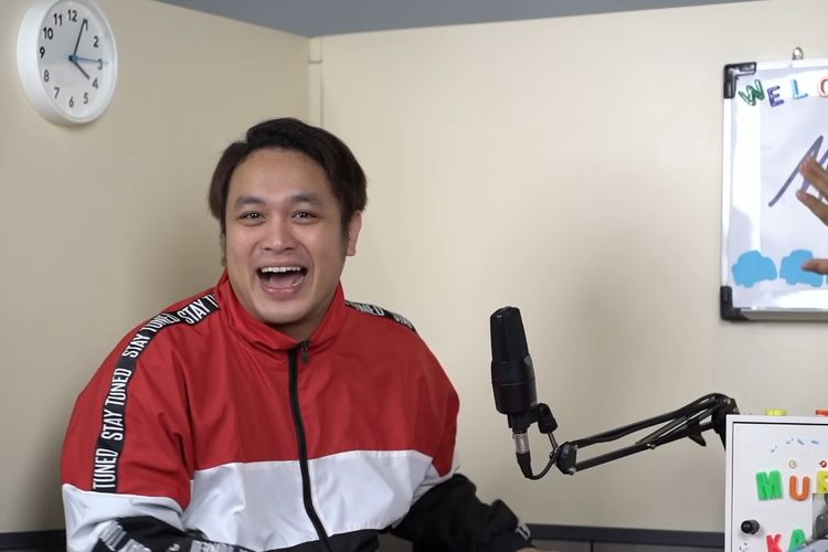 Pembawa acara Gilang Dirga menjadi bintang tamu konten Murangkalih kanal YouTube Armand Maulana.