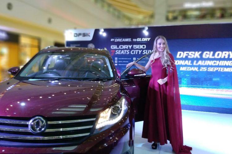 DFSK Glory 580 meluncur di Medan, Sumatera Utara