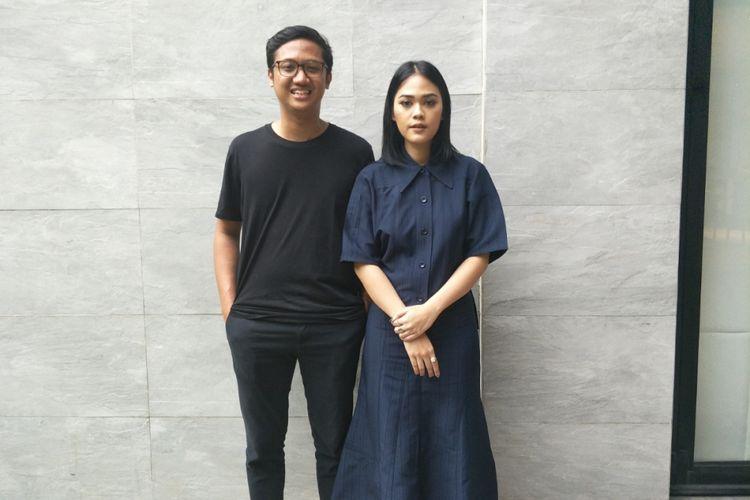 Kimokal berpose usai konferensi pers keberangkatan mereka ke Festival SXSW di Double Deer, Jakarta Selatan, Jumat (9/3/2018).