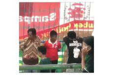 Viral Bocah Pakai Jersey Persija Disebut Diikat di Pagar Saat Laga Persebaya Vs Madura United