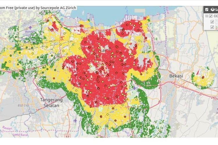 Gabungan tim Ahli dan Peneliti Universitas Indonesia (UI) mengembangkan sebuah Portal WebGIS (peta dalam jaringan/daring) untuk membantu pemerintah memetakan sebaran virus COVID-19.