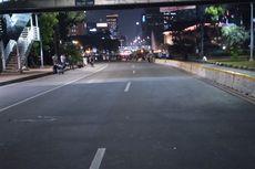 Demonstran Bubar, Jalan Medan Merdeka Barat Mulai Dilewati Kendaraan