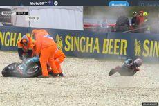 MotoGP Australia 2019, Quartararo Terlempar bersama Motornya Saat FP1