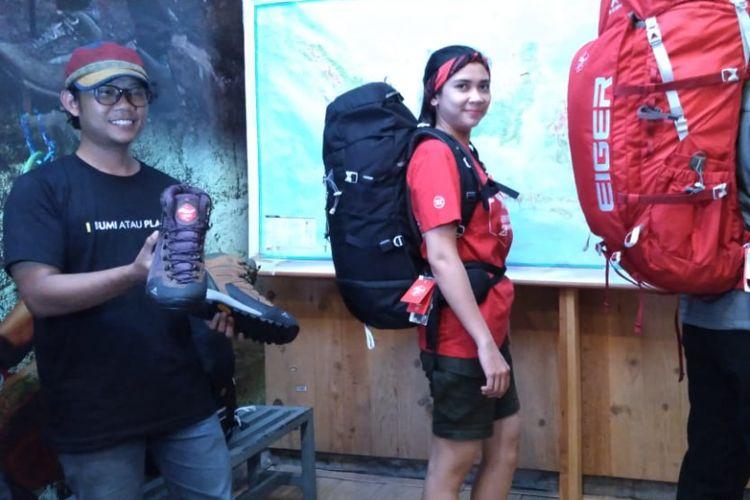 Eiger mengeluarkan produk baru yang terinspirasi dari penjelajahan dalam menapaki 28 gunung tertinggi di Indonesia.