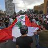 Demo Ledakan Lebanon, Yel-yel Arab Spring Bergema di Beirut