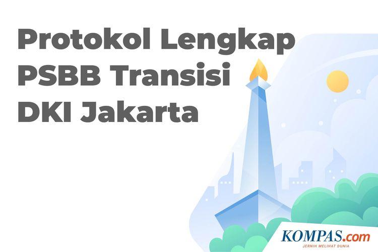 Infografik Protokol Lengkap Psbb Transisi Dki Jakarta